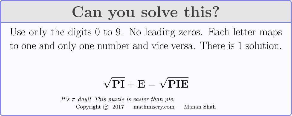 PI + E  =  PIE