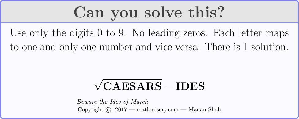 CAESARS  = IDES