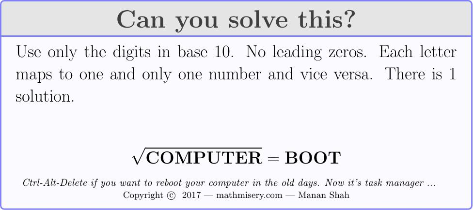 COMPUTER  = BOOT