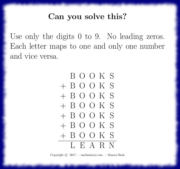 BOOKS + BOOKS + BOOKS + BOOKS + BOOKS + BOOKS + BOOKS = LEARN